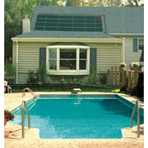 Panel Solar Para Alberca Sube +6°c El Agua