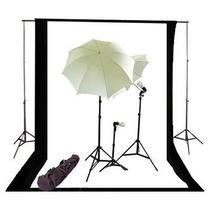 Estudio Fotografico Profesional Porta Fondo Sombrilla Vv4