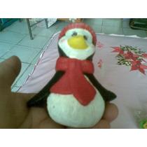 Vela De Pinguino Navideña Vbf