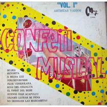 Rock Mex(varios) Reyes Del Rock, Confeti Musical Vol.1,lp12´