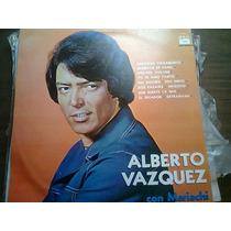 Disco Acetato De Alberto Vazquez Con Mariachi