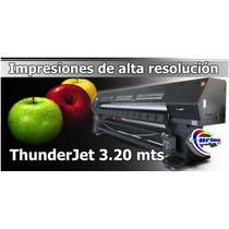 Impresora De Alta Resolución Orionjet Thunderjet T3202s