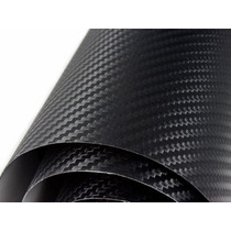 Rollo Grande 127x1 Fibra Carbon Texturizado Tuning Autos