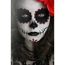 Maquillaje Halloween Catrina De Dia De Muertos