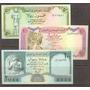 Coleccion De 3 Billetes De Yemen