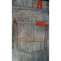 Seven For All Mankind Jeans Boot Cut Para Caballero 29x30.