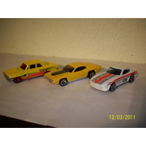Hot Wheels Lote 3 Coches Datsun 240z Plymouth 71 Thunderbolt