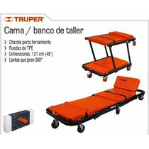 Cama - Banco Para Taller Truper Mecanico Oportunidad Oferta