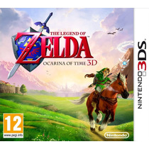 The Legend Of Zelda Ocarina Of Time 3d - 3ds,new 3ds[físico]