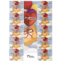 2010 Día Del Amor Y La Amistad 10/sellos Con Puente Gutter
