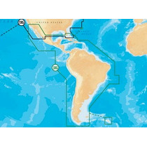 Navionics Mapa Gold Mexico, Centroamerica Y Sudamerica