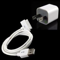 Cargador Y Cable Usb Iphone 4,3gs,3g Nuevo Original Barato