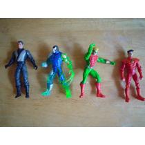 3 Figuras De Dc Comics D 1997 Miden 13 Cms En 60.00 Cada Una