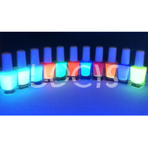 Barniz Esmalte Para Uñas Neon Glow Fosforescente
