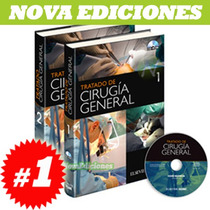 Tratado De Cirugía General 2 Vol. + 1 Cd
