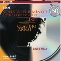 Piano Claudio Arrau - Liszt Sonata Estudios Cd Bfn Richter