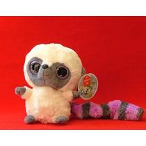 Lemur De Cola Anillada Morada Marca Aurora Con Sonido Median
