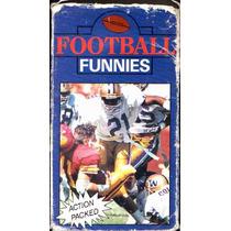 Vhs Football Funnies (jugadas Chuscas De Futbol Americano)