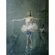 *ballet* Rare German *monotipo* Signed Aron Munchhausen