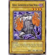 Carta Yugi Oh Renge , Custodio Del Mundo Oscuro