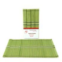 Mantel Individual Verde Juego De 4 Piezas Sm-426080 Namaro
