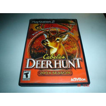 Playstation 2 Cabelas Deer Hunt 2004 Season