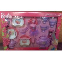 Barbie Hada Con Juego De Te