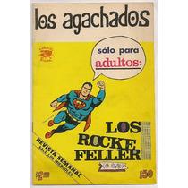 Rarísimo Comic Supermán Los Agachados Rius Novaro De 1974
