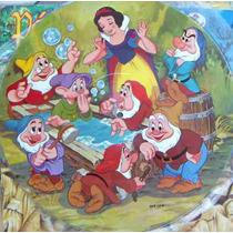 Walt Disney,blanca Nieves Y Los Siete Enanos, Fotodisco 12´