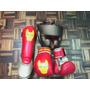 Equipo Completo Para Kick Boxing Y Muay Thai Iron Man
