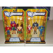 Dc Universe Justice League Unlimited Green Lantern, Flash