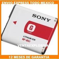 Bateria Camaras Sony Recargable Np-bg1 Np-fg1 Npbg1 Dsc-w200