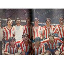 Futbol Revista Balón Onofre Equipo Chivas Guadalajara D 1972