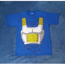 Playera Camiseta Dragon Ball Z Vegeta Traje Torso Cosplay