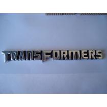 Transformers Letrero Emblema Metalico Autobots Decepticons