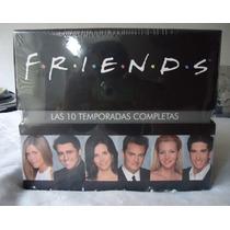 Boxset Friends, La Serie Completa De 10 Temporadas En Dvd