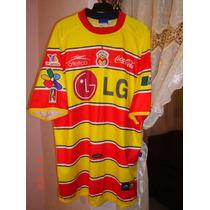 Jersey Camisa De Morelia Atetica De La Libertadores 2002