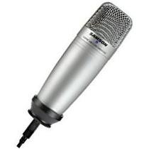 Microfono D Condensador Usb Samson C01u, Profesional Estudio