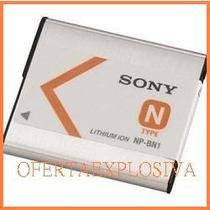 Bateria Original Recargable Sony Np-bn1 Camara Dsc-t99 Tx5