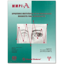 Mmpi-a Exclusivamente Perfiles Basicos México.paq.25. Tests.