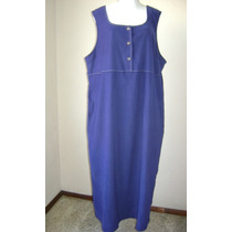 Classic Elements T-20-22 Vestido Jumper Azul! Vst663