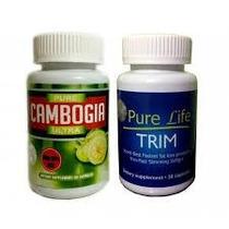Combo Cambogia 1500 Mg Mas Pure Life Envio Gratis Dhl