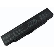 Bateria Pila Sony Vaio Bps9 Vgn-cr20 Negra 6 Celdas