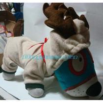 Disfraz Reno Con Cuernos Talla Seis Para Perros Navidad
