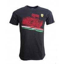 Playera Puma Scuderia Ferrari Graphic Tee1 Tallas Ch Y M