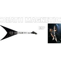 Stickers Kirk Hammett Death Magnetic Guitarra Electrica Esp