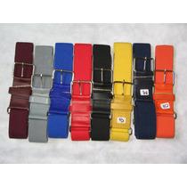 Cinturon Beisbol Varios Colores Elastico Softbol Uno
