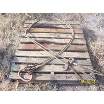 Eslinga O Estrobo Doble Cable De Acero 4 X 4 De 1/2 Pulgada