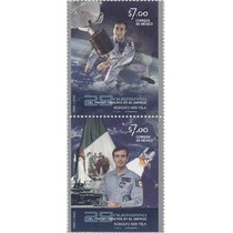 2010 Primer Mexicano En El Espacio Rodolfo Neri Vela 2/sello
