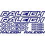 Jgo De 10 Calcomanias Para Bicicleta Raleigh